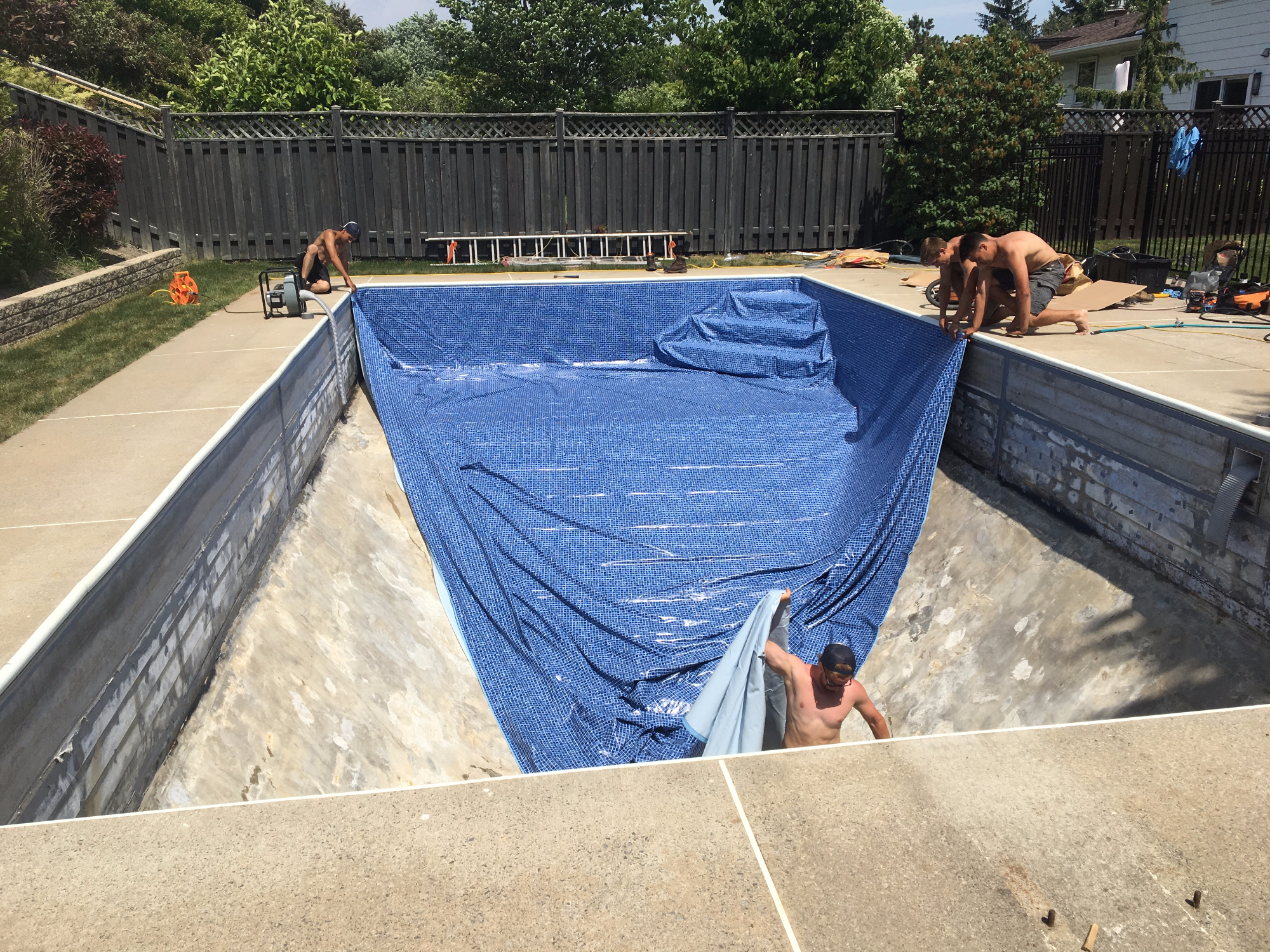 Pool Liner Replacement Ottawa